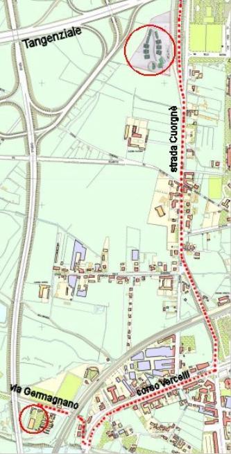Mappa canili