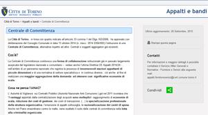 Appalti E Bandi Citta Di Torino Servizio Telematico Pubblico