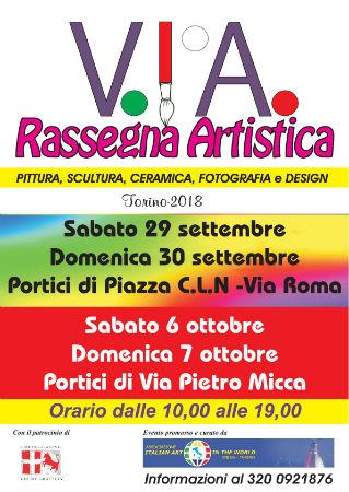 Rassegna Artistica Torino settembre