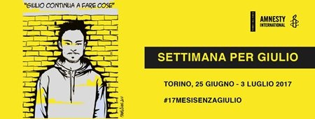 settimana per Giulio Regeni Torino