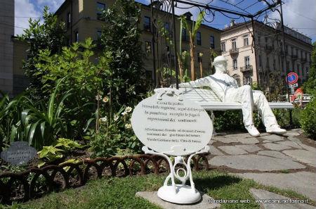 foto giardino Lamarmora via Cernaia
