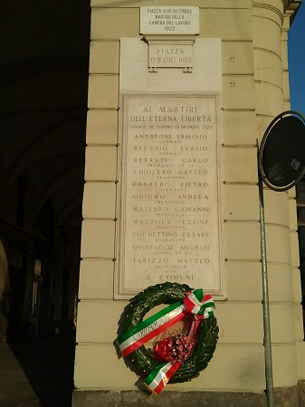 Piazza XVIII Dicembre 1922