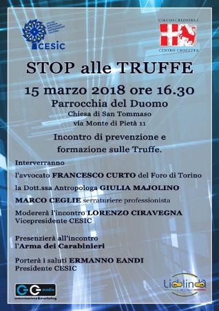 Stop alle Truffe Torino