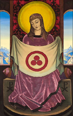 bandiera del patto di Roerich