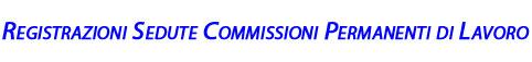 registrazione commissioni