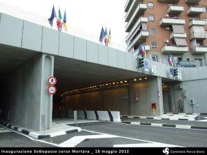 Sottopasso corso Mortara - inaugurazione 18/5/2012 foto Comitato Parco Dora