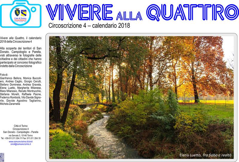 San Donato Calendario.Vivere Alla Quattro Il Calendario 2018