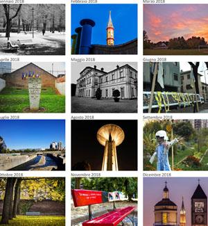 Calendario 2018, 12 foto per 12 mesi