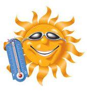 sole con termometro