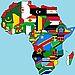 piantina dell'africa