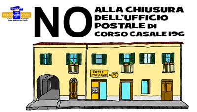 disegno casa della sede Poste Italiane in corso Casale