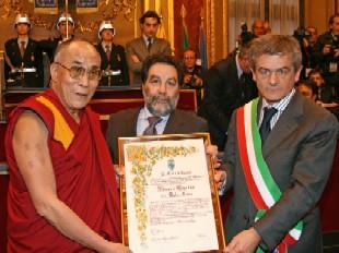 cittadinanza onoraria Dalai Lama