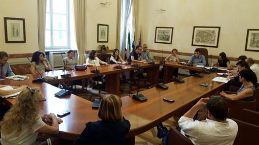 Seduta di Commissione consiliare