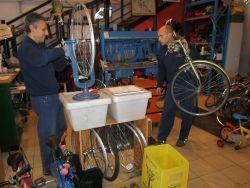 triciclo ripara bici