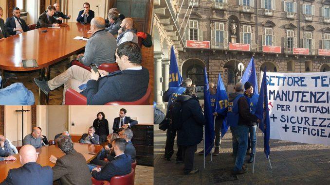GTT in sciopero, una delegazione sindacale ricevuta durante