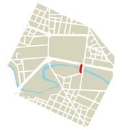 Planimetria Ponte via Livorno e via Orvieto