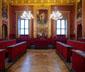 La Sala Rossa dove si riunisce il Consiglio comunale di Torino