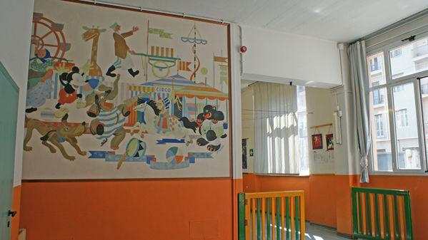 Museo scolastico nido via assisi ex nido aziendale for Noto architetto torinese
