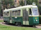 La storia sul tram