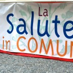 Banner sotto palco