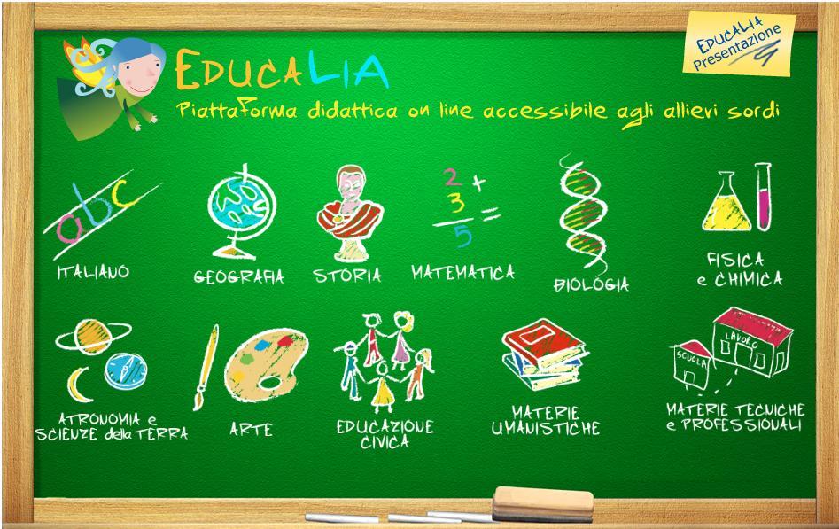 Educalia - Piattaforma didattica online