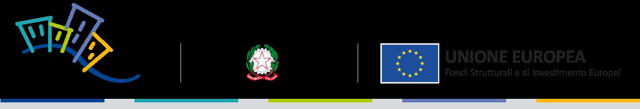 Pon Metro, Repubblica Italiana, Unione Europea Fondi Strutturali e di Investimento Europei
