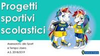 progetti sportivi scolastici 2018-19