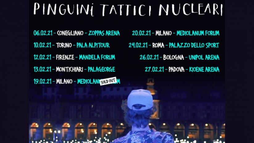 Pinguini Tattici Nucleari Torino