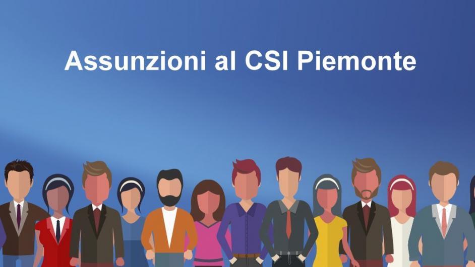 Assunzioni al CSI Piemonte