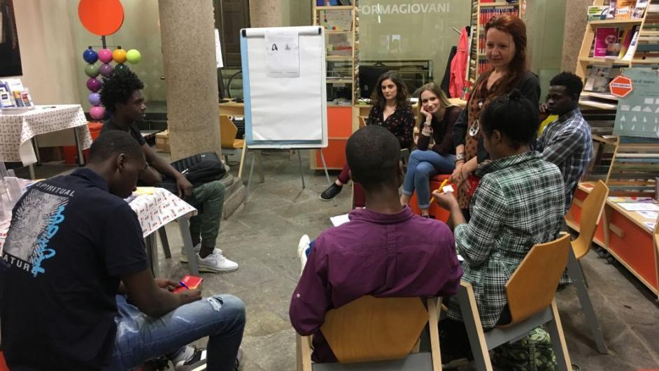 Conversazione in italiano all'InformaGiovani