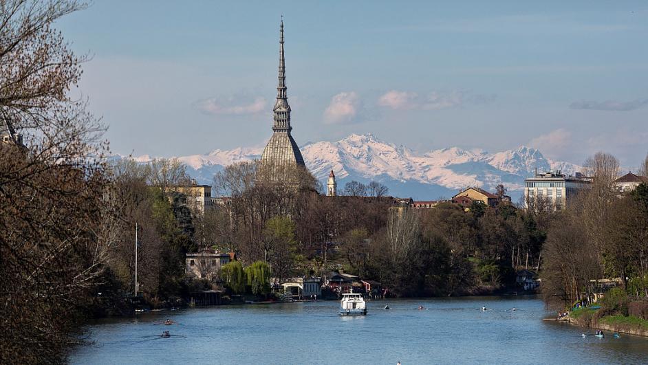 fiume Po a Torino