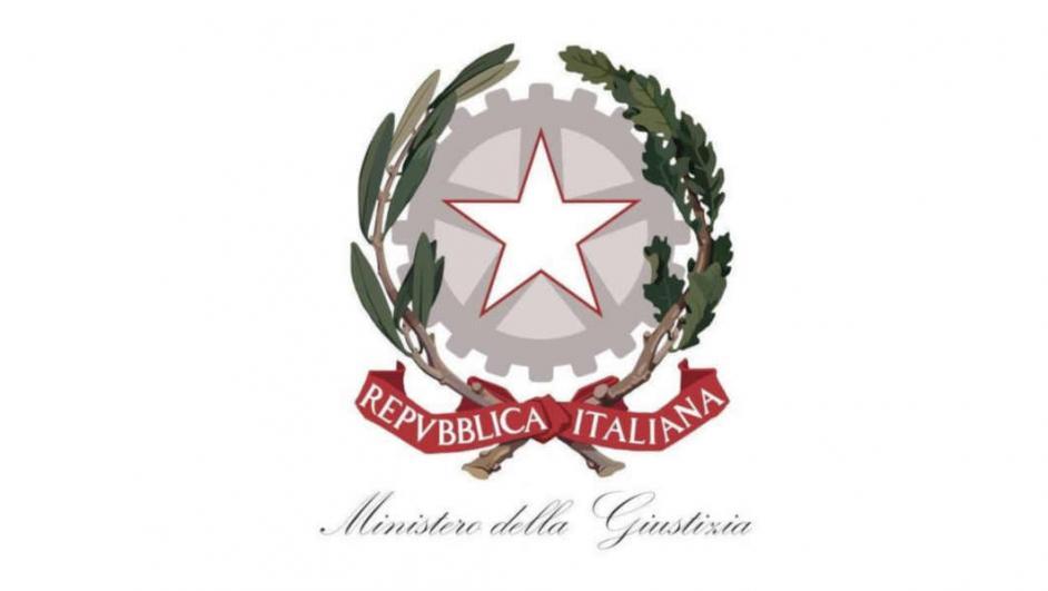 logo ministero giustizia