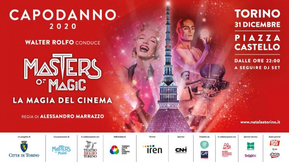 Capodanno 2020 a Torino in piazza Castello