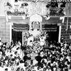 Piazza Foroni, Festa della Madonna di Ripalta, 1957. Foto: Archivio dell'Associazione Officina della Memoria e Archivio Storico della Città di Torino