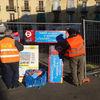 Riqualificazione del Mercato Foroni | Comunicazione Fase 2 dei lavori, piazza Cerignola | Cantiere | Gennaio 2015