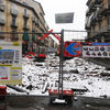 Riqualificazione del Mercato Foroni | Comunicazione Fase 2 dei lavori, piazza Cerignola | Cantiere | Febbario 2015-3