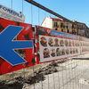 Riqualificazione del Mercato Foroni | Comunicazione Fase 2 dei lavori, piazza Cerignola | Cantiere | Febbario 2015