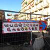 Riqualificazione del Mercato Foroni | Comunicazione Fase 2 dei lavori, piazza Cerignola | Cantiere | Febbario 2015-2