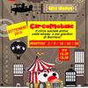 """Locandina appuntamenti Settembre 2014 """"Circo mobile: il circo in strada"""""""