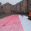 Realizzazione area verde ex-Ceat | Cantiere | Febbraio 2012