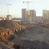 Realizzazione Parco Spina 4 | Vista dell'area da un tetto dei Docks Dora | Demolizioni