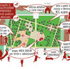 Realizzazione area verde ex-Ceat | Planimetria e usi