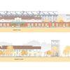 Realizzazione nuova scuola d'infanzia | Nido ex-Incet | Prospetti est/ovest | Progetto