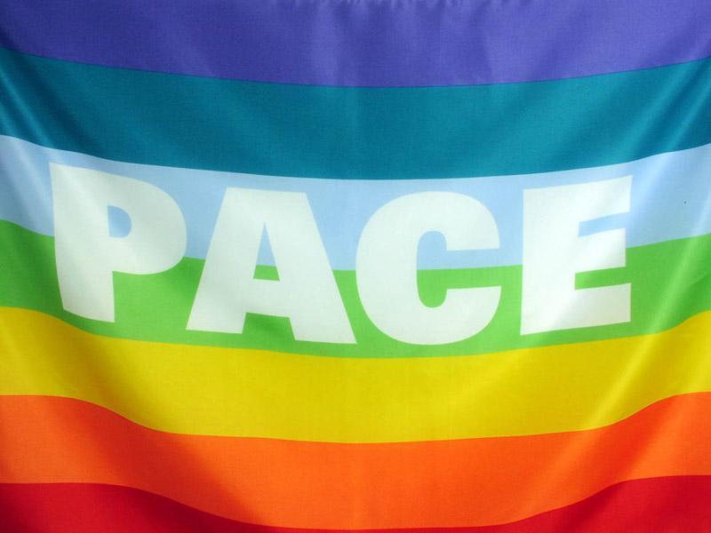Bandiera della Pace foto
