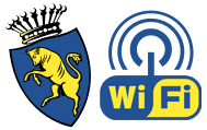 Logo servizi wifi della Città